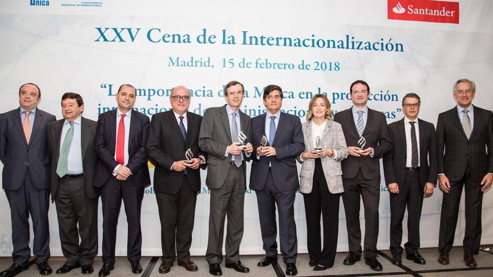 Se entregan los Reconocimientos a la Internacionalización Empresarial 2017