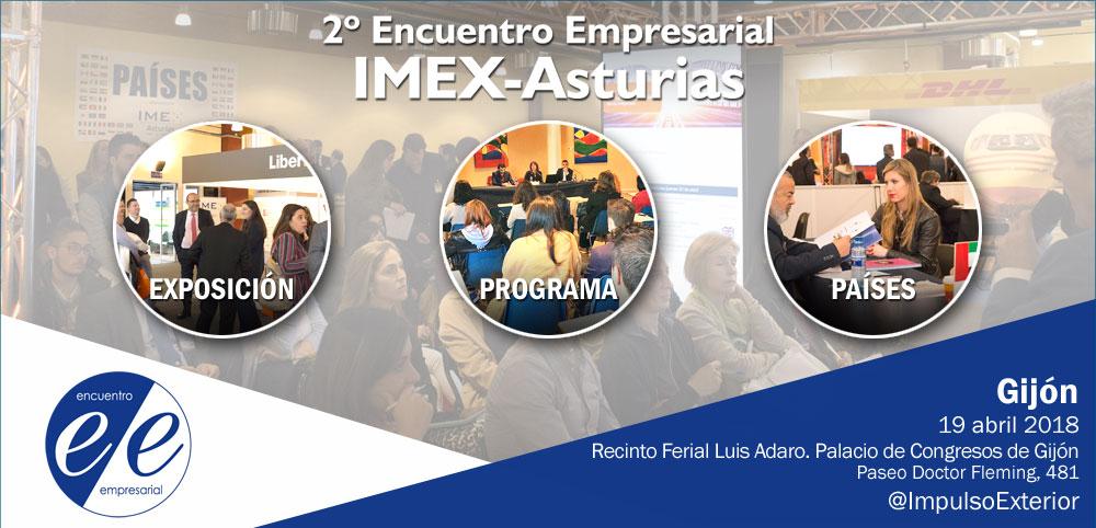 Banner Encuentro Empresarial IMEX-Asturias 2018