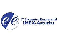 Logo 2º Encuentro Empresarial IMEX-Asturias 2018 - 245x180 px.