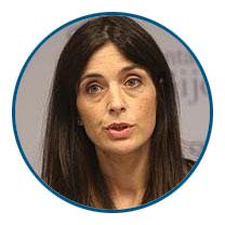Ana Braña Rodríguez-Abello, Concejala de Hacienda, Organización Municipal y Empleo del Ayuntamiento de Gijón.