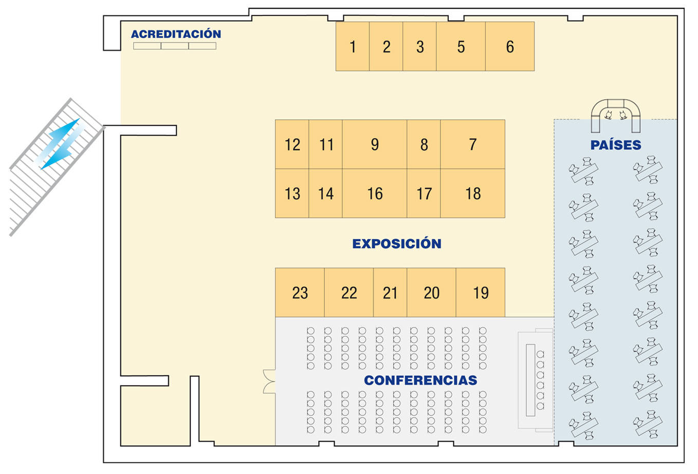 Plano 2º Encuentro Empresarial IMEX-Asturias 2018