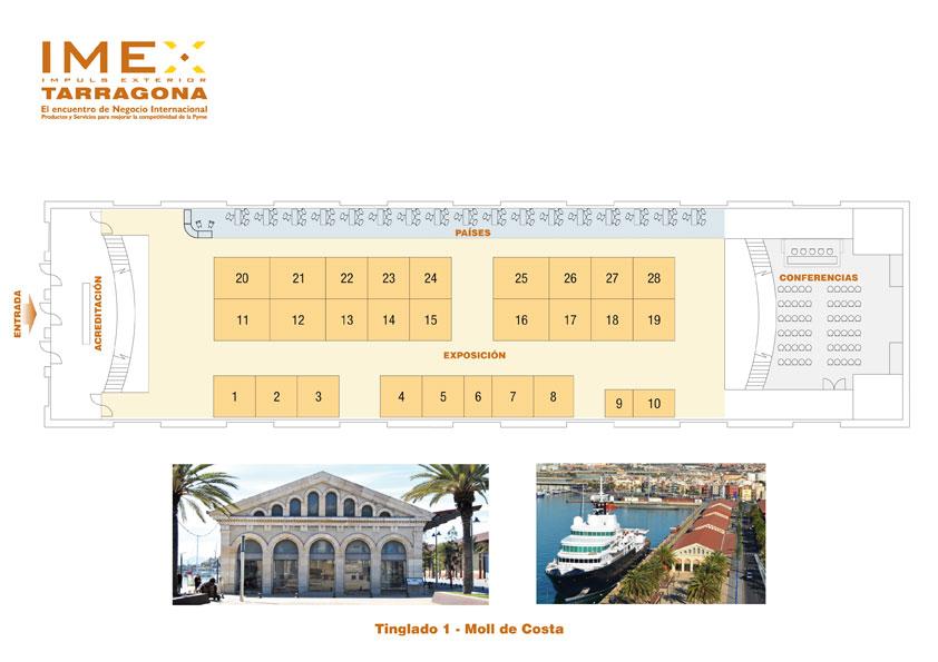 Plano IMEX-Tarragona 2018