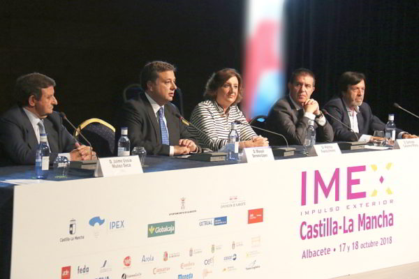 La Feria IMEX Castilla-La Mancha 2018 acaba de cerrar sus puertas después de 2 días de intensa actividad en el Palacio de Congresos de Albacete