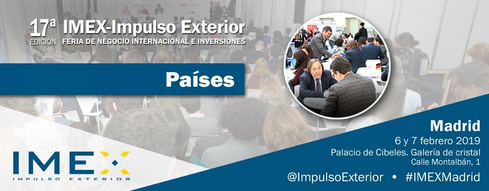 Banner países IMEX-Madrid 2019