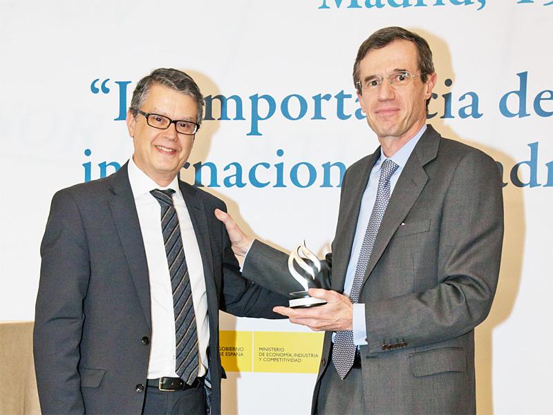 Reconocimientos a la Internacionalización Empresarial 2017, GRUPO LANTERO