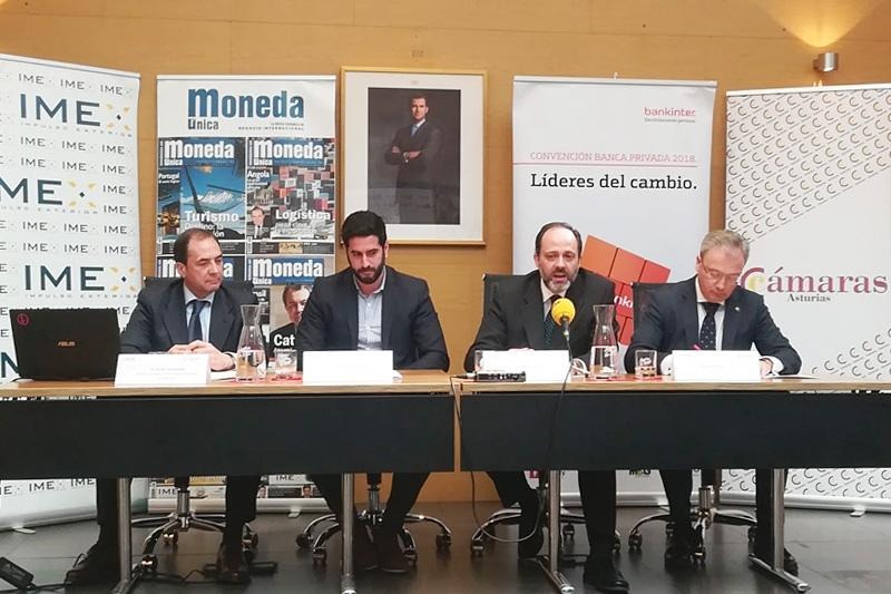 Presentación del 2ª Encuentro Empresarial IMEX-Asturias